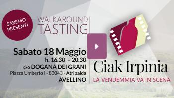 Ciak Irpinia 2019  -Presentazione NUOVE ANNATE delle DOCG dell'Irpinia